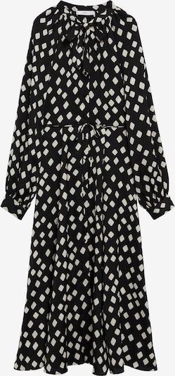 MANGO Robe en noir / blanc, Vue avec produit