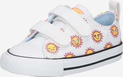 CONVERSE Brīvā laika apavi 'CTAS 2V OX' citronkrāsas / balts, Preces skats