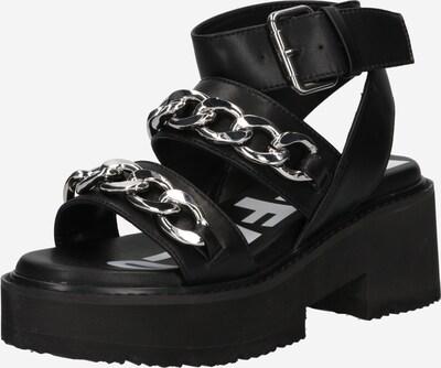 Sandale 'ROCKET' BUFFALO pe negru, Vizualizare produs