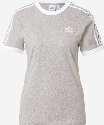 ADIDAS ORIGINALS Shirt in mottled grey / White, Item view