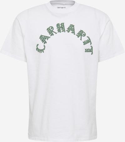 Tricou Carhartt WIP pe verde deschis / verde închis / alb murdar, Vizualizare produs