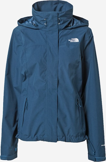 THE NORTH FACE Veste outdoor 'SANGRO' en bleu-gris / blanc, Vue avec produit
