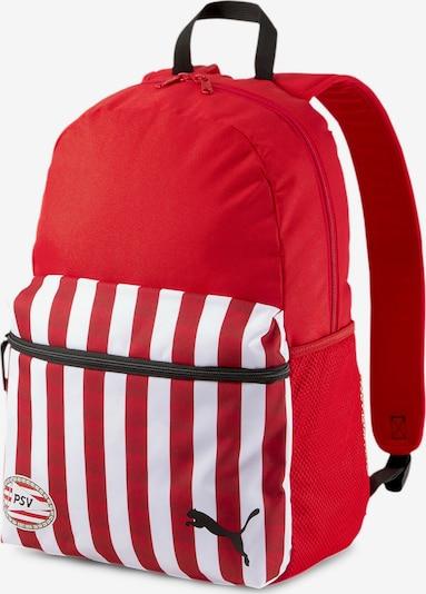 PUMA Rucksack in rot / schwarz / weiß, Produktansicht