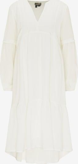DreiMaster Vintage Zomerjurk in de kleur Wit: Vooraanzicht