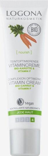 Logona Gesichtscreme 'Bio-Karotte & Vitamin F' in weiß, Produktansicht