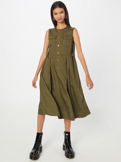 G-Star RAW Košilové šaty - olivová, Model/ka