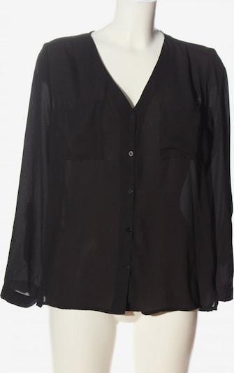 H&M Hemd-Bluse in S in schwarz, Produktansicht