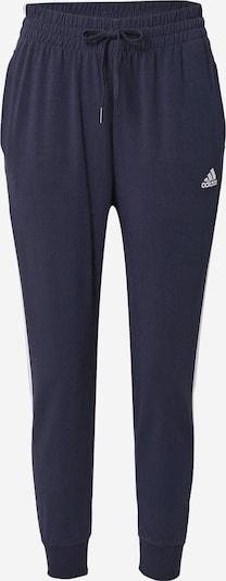 ADIDAS PERFORMANCE Sporta bikses, krāsa - tumši zils / balts, Preces skats