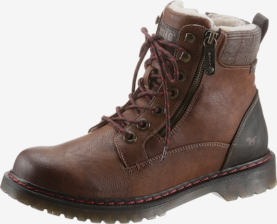 MUSTANG Lace-Up Boots in Cognac, Item view