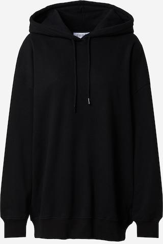 EDITED Sweatshirt 'Nyla' in Black