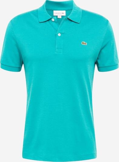 LACOSTE T-Shirt en turquoise, Vue avec produit
