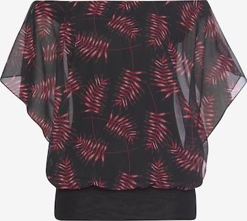 MELROSE Bluse in Schwarz