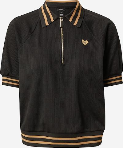 River Island Shirt in de kleur Lichtbeige / Zwart, Productweergave