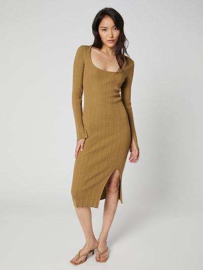 A LOT LESS Kleid 'Arabella' in oliv, Modelansicht