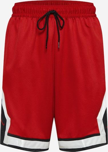 Jordan Shorts in feuerrot / schwarz / weiß, Produktansicht