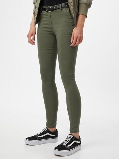 Hailys Chino hlače 'Mandy' u kaki, Prikaz modela