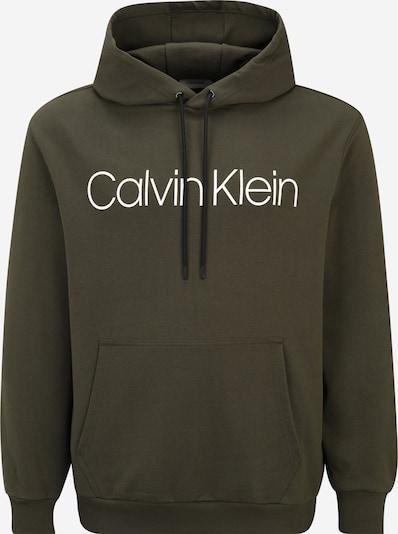 Calvin Klein Big & Tall Dressipluus oliiv / valge, Tootevaade