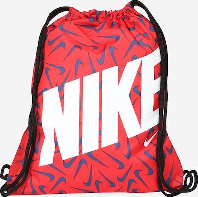 Ghiozdan sac Nike Sportswear pe albastru / roșu / alb, Vizualizare produs