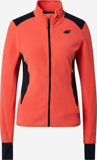 Jachetă  fleece funcțională 4F pe corai / negru, Vizualizare produs