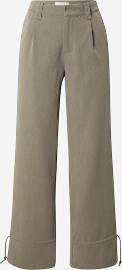Klostuotos kelnės 'MARTHA' iš PULZ Jeans , spalva - alyvuogių spalva, Prekių apžvalga