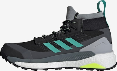 adidas Terrex Outdoorschuh 'TERREX Free Hiker' in türkis / grau / schwarz, Produktansicht
