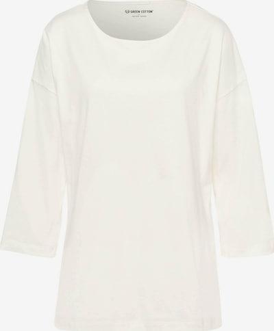 Green Cotton 3/4-Arm-Shirt Shirt in weiß, Produktansicht