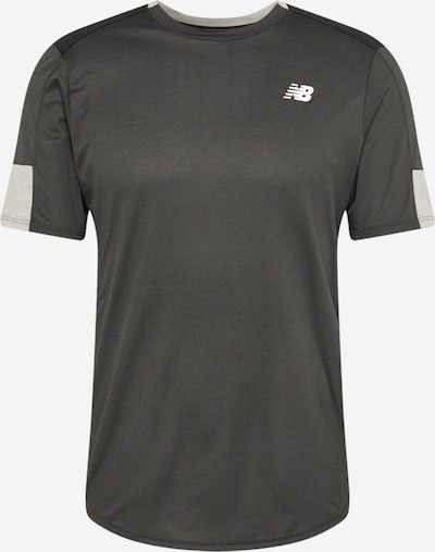 new balance Camiseta funcional 'FAST FLIGHT' en gris / negro / blanco, Vista del producto