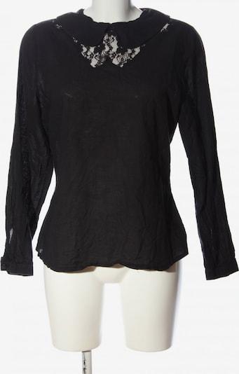 Fräulein Stachelbeere Langarm-Bluse in L in schwarz, Produktansicht