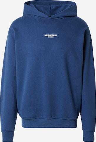 PARI Hoodie 'SPORTS CLUB' in Blau