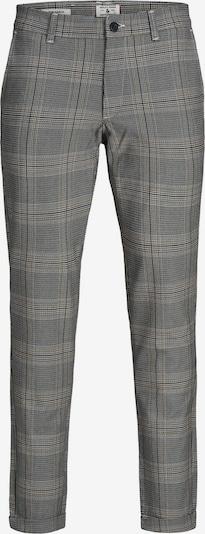 JACK & JONES Chino hlače 'Marco Stuart' | svetlo bež / siva / bela barva, Prikaz izdelka