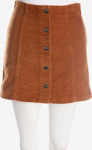 Topshop Skirt in S in Brown