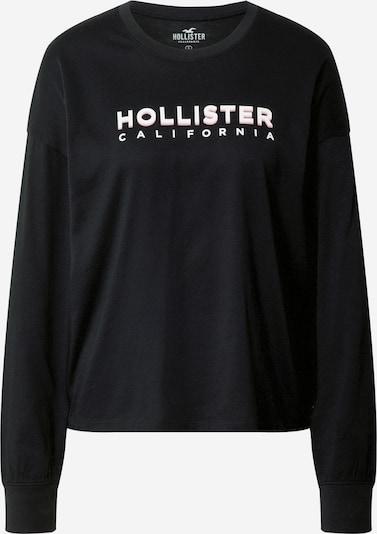 HOLLISTER Shirt in schwarz / weiß, Produktansicht