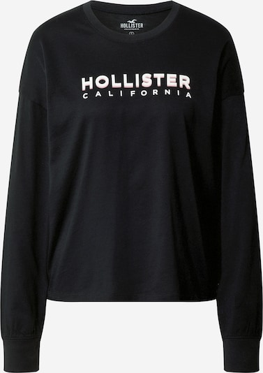 HOLLISTER Tričko - černá / bílá, Produkt