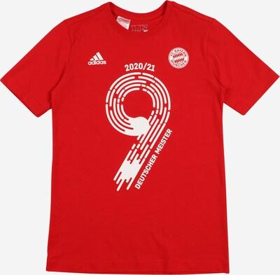 ADIDAS PERFORMANCE Functioneel shirt 'FCB Meister21' in de kleur Rood / Wit, Productweergave
