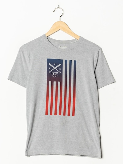 UNDER ARMOUR Sport T-Shirt in S-M in graumeliert, Produktansicht