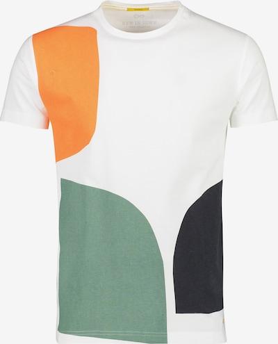NEW IN TOWN T-Shirt mit Print in mischfarben / weiß, Produktansicht