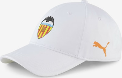 PUMA Cap 'FC Valencia' in gelb / orange / rot / schwarz / weiß, Produktansicht