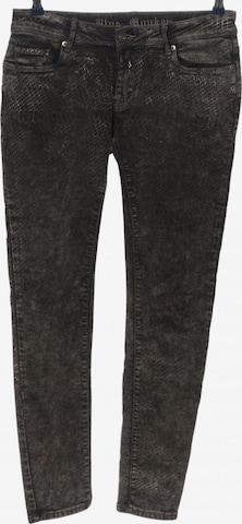 Blue Monkey Pants in M in Black