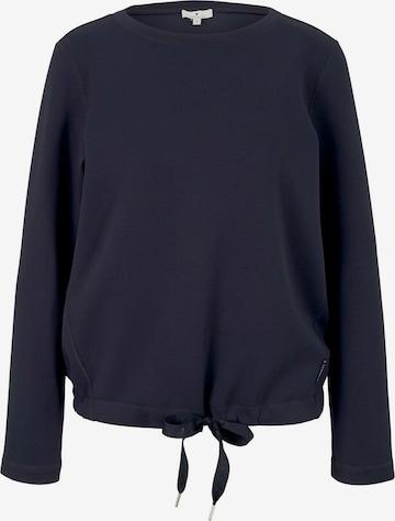 TOM TAILOR Sweatshirt in Blau