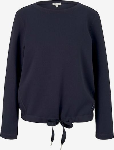 TOM TAILOR Sweatshirt in navy, Produktansicht