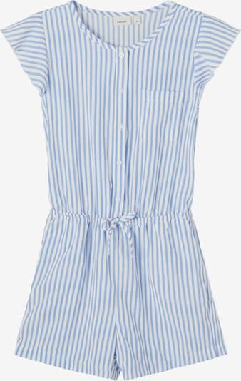 NAME IT Playsuit in blau / weiß, Produktansicht