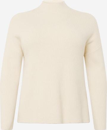 Pull-over 'Blaire' Selected Femme Curve en beige
