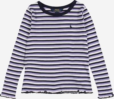 POLO RALPH LAUREN Tričko - noční modrá / bledě fialová / bílá, Produkt
