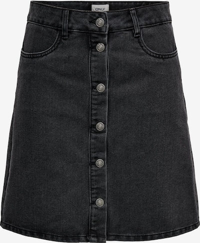 ONLY Rok 'Farrah' in de kleur Black denim, Productweergave
