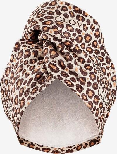GLOV Haartuch ' Cheetah' in beige / braun, Produktansicht