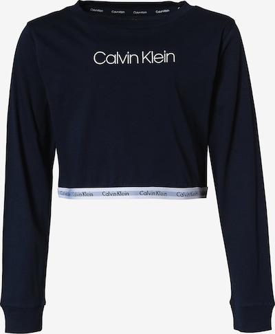 Calvin Klein Underwear T-shirt i marinblå / vit, Produktvy
