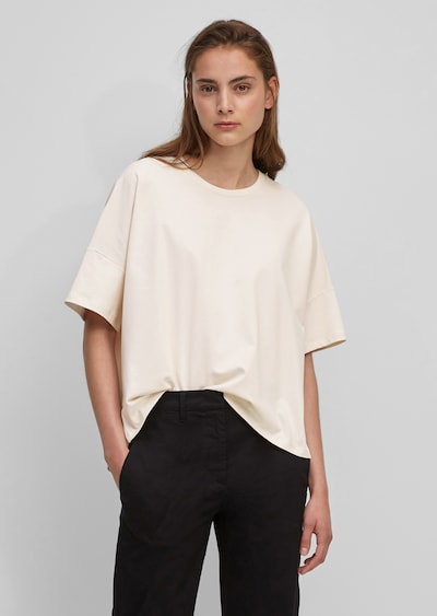 Marc O'Polo Shirt in creme: Frontalansicht