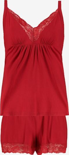 Ulla Popken Pyjama in rot, Produktansicht