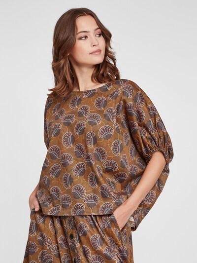 SoSUE Bluse in braun / mischfarben, Modelansicht