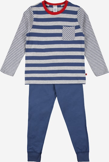 SANETTA Pajamas in Blue / mottled grey / Red, Item view